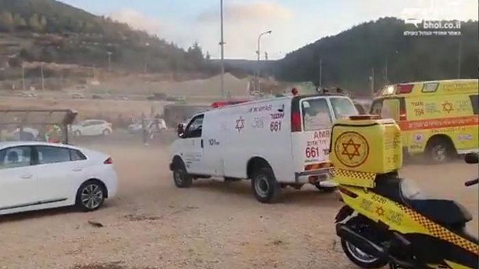 Масштабное ДТП в Израиле: 40 пострадавших (видео)