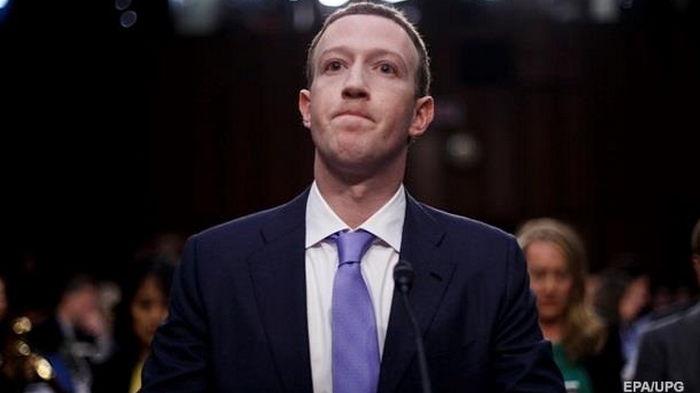 Цукерберг потерял $6,6 млрд из-за сбоя в Facebook