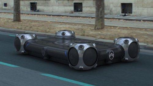Citroen показал беспилотные платформы для города (видео)