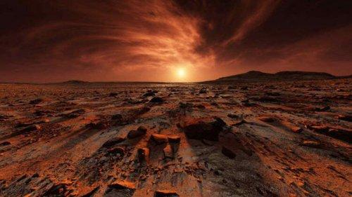 Кладбища на Марсе. Как человеческие тела будут разлагаться на Красной ...