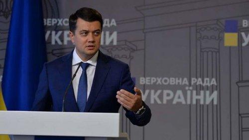 Разумков ответил на вопрос о президентских амбициях