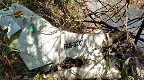 В Боливии разбился самолет ВВС, есть жертвы
