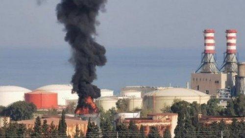 В Ливане на нефтяном комплексе произошел масштабный пожар