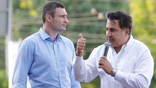 Историческая личность: Кличко призвал грузинские власти освободить Саакашвили