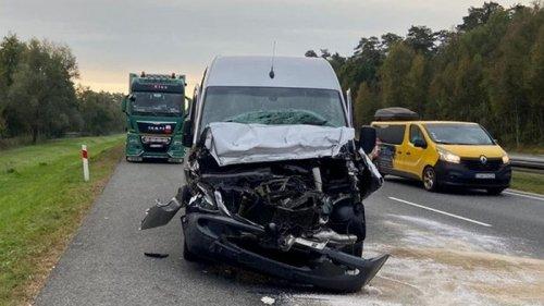В Польше автобус с украинцами попал в ДТП, четверо пострадавших