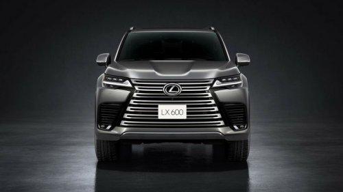 Новый Lexus LX дебютировал официально (фото)