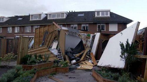 В Нидерландах и Франции бушует шторм (фото)