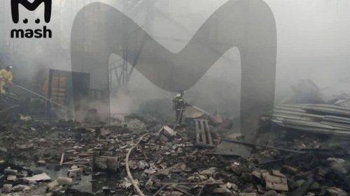 В РФ при пожаре на пороховом заводе много погибших