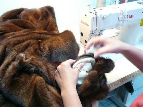 Лучший ремонт шуб в центре Киева от студии дизайна меха «Winter Fur»