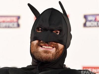 Фьюри уверен, что Владимир Кличко испугался его костюма Бэтмена