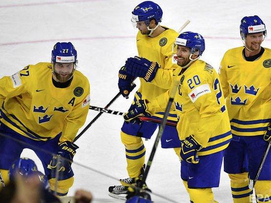 Швеция обыграла Канаду и стала чемпионом мира по хоккею (видео)