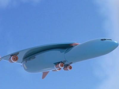 Airbus запатентовал самолет, который за час долетит из Лондона в Нью-Йорк (видео)