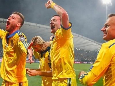 Сборная Украины в матче со Словенией выиграла путевку на Евро-2016 (видео)